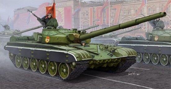Russian T-72b Mbt Tank 1:16 Plastic Model Kit TRUMPETER