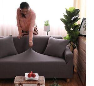 Perfect Fit Sofa Slipcover Cover Living Room Elasticity Non Slip