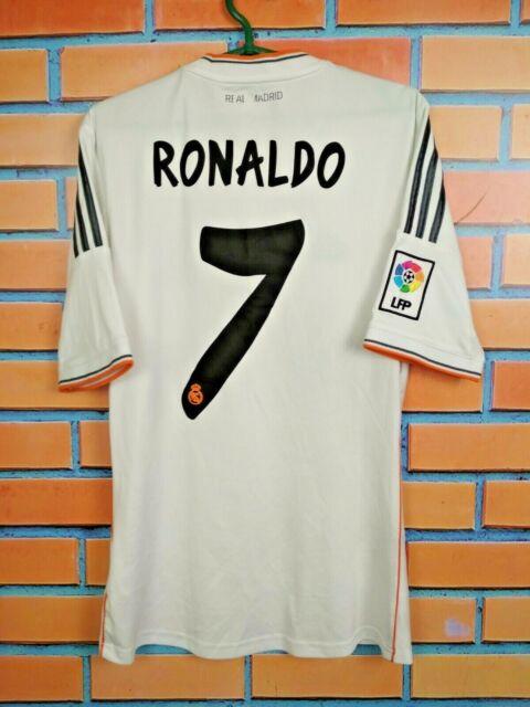 Real Madrid Jersey Home S Shirt Mens Camiseta Football Soccer ...