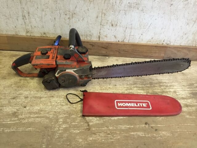 Vintage homelite super e z automatic chainsaw 16 bar ebay vintage homelite chainsaw super e z automatic 16 bar greentooth Image collections