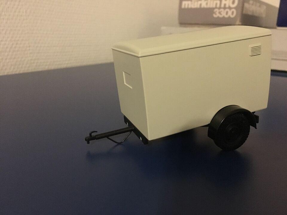 Modeltog, Hübner SPOR 1 - Trailer, skala 1