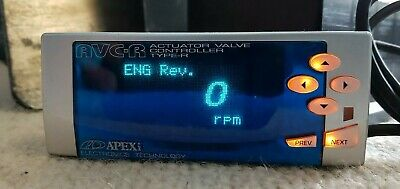 Apexi avcr avc-r Electronic Boost Controller Manuel Instructions