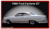 1966 Ford Fairlane Gt Refrigerator Magnet