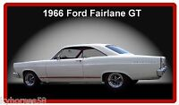 1966 Ford Fairlane Gt Refrigerator Magnet