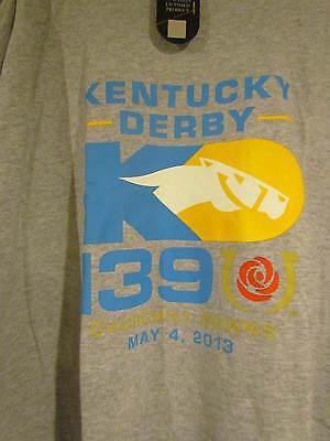 KENTUCKY DERBY 139 OFFICIAL LOGO SHIRTS-GOT MINT WHITE X-LARGE WINNER ORB