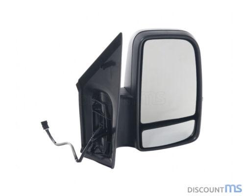/> NERO Specchio Esterno Destro Elettrico Riscaldabile Convesso per Mercedes 09