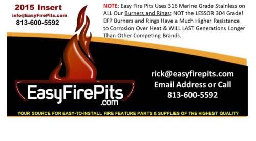 Non ADJ PROPANE REG5: HIGH PRESSURE LP 5 PSI GAS REGULATOR for Fire Features