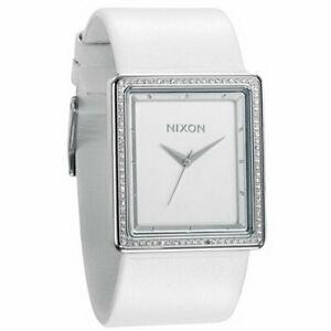 Nixon-Portrait-Watch-Women-039-s-Crystal-White-One-Size