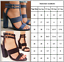 Womens-Block-High-Heels-Sandals-Pumps-Ankle-Strap-Summer-Peep-Toes-Casual-Shoes thumbnail 3