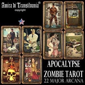 apocalypse-tarot-card-cards-deck-major-arcana-horror-zombie-oracle-rare-vintage