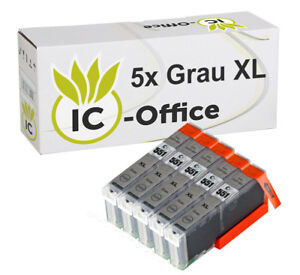 5-x-Ink-single-Colour-CLI-551XL-grey-PIXMA-IP7250-MG5450-MG6350-MX725-MG5550