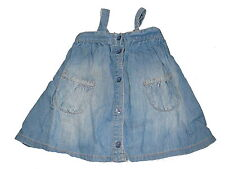H & M tolles Jeans Kleid Gr. 80 !!