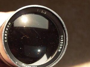 Tokina-Caspeco-300mm-F-5-5-T-gt-Cmt-m4-3-Olympus-Lumix-Sony-Canon-Fujifilm-Bolex
