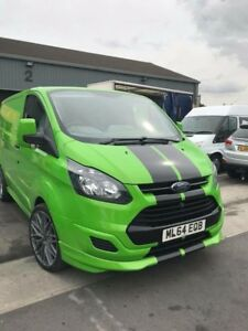 Ford Transit Custom >> Details About Ford Transit Custom Sport Bonnet Stripes Vinyl Graphics Decals M Sport