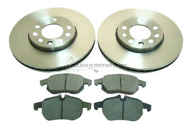 CHECK SIZE 302MM SAAB 9-3 93 1.9 TiD 2.2 1.8T 2.0 FRONT 2 BRAKE DISCS AND PADS