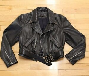 2b76c784d68 Image is loading Authentic-vintage-chrome-hearts-leather-jacket