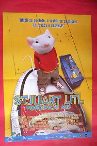 Stuart Little 1999 Geena Davis Michael J Fox Rare Serbian Movie Poster Ebay
