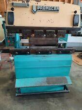 Promecam 25 Ton Press Brake 3 Phase Rg 25 12 Up Acting Brake Hydraulic 4