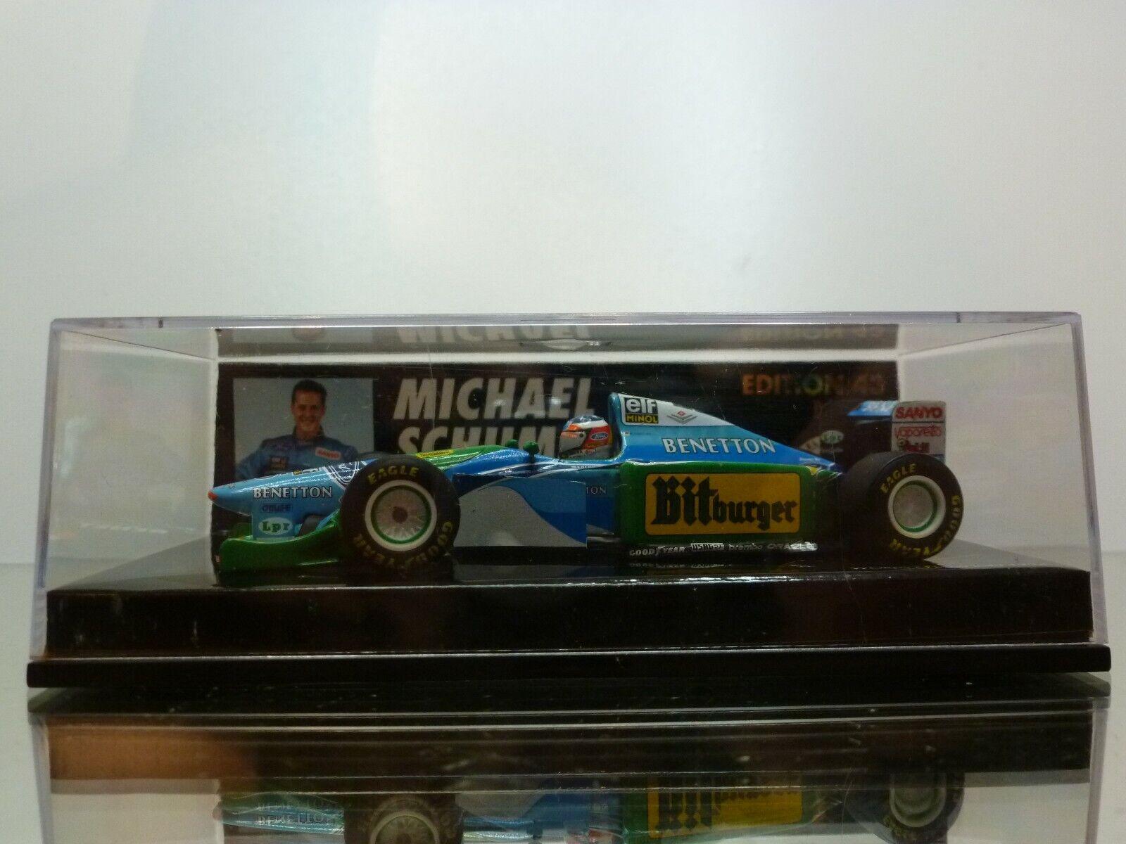 negozio outlet MINICHAMPS 944335 BENETTON FORD B194 B194 B194 SCHUMACHER - 1 43 - EXCELLENT IN scatola  caldo
