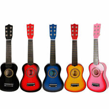 "21""Acoustic Guitar Mini  6 String Guitar Music Instrument Beginners Practice US"