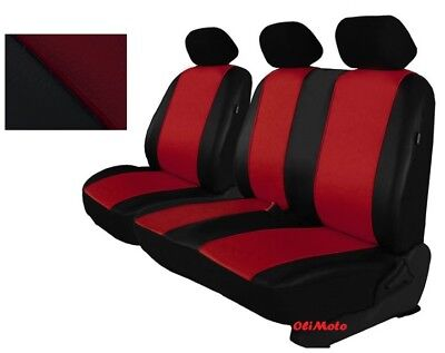 FORD TRANSIT VAN 2+1 ECO LEATHER UNIVERSAL FRONT SEAT COVERS