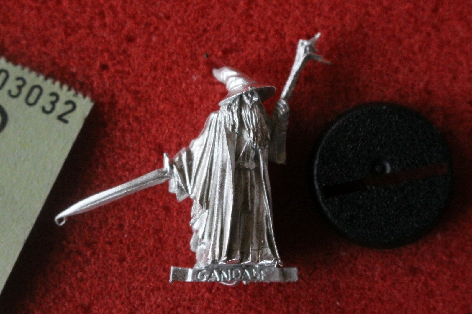 Games Workshop Lord Of The Rings Gandalf The Grey on Foot New Metal Figure