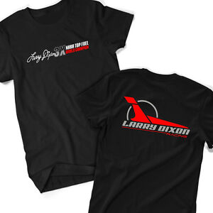 Larry-Dixon-3X-Top-Fuel-World-Champion-T-Shirt-NHRA-Drag-Racing-OFFICIAL-Size-SM