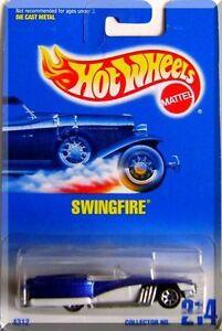 Hot-Wheels-Swingfire-Car-NIB-Mattel-NIP-Collector-No-214-1991