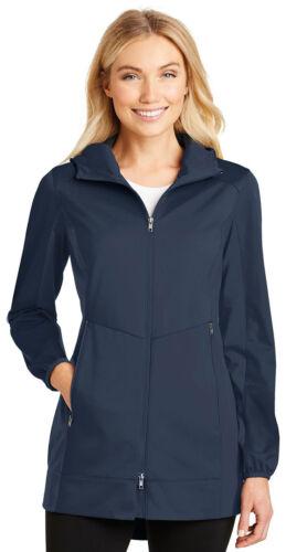 Active Hooded Long Authority Port Women's Shell L719 Jacket Soft Sleeve Basic wfBaIqxT