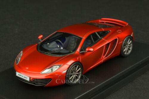 HPI 1//43 McLaren MP4-12C Mercury Red 8861