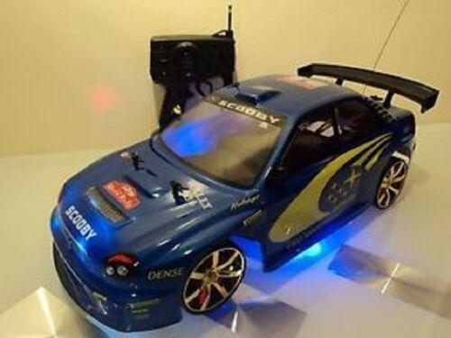 Subaru Impreza style WRC Radio Remote Control Car 20MPH 1:10 Scale RC Toy Car
