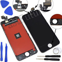 Black LCD Touch Screen Display Digitizer Assembly Replacement for iPhone 5
