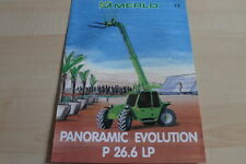 127590) Merlo Panoramic Evolution P 26.6 LP Prospekt 04/1999