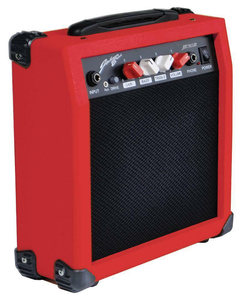 20W Mini Guitar Amplifier - Red - JOHNNY BROOK