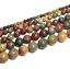 4-6-8-10mm-Lot-Bulk-Natural-Stone-Lava-Loose-Beads-DIY-Bracelet-Jewelry-Necklace thumbnail 98
