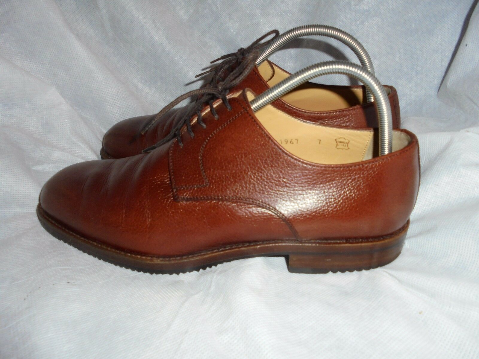 BRUNO MAGLI MEN'S BROWN LEATHER LACE UP SHOE SIZE UK 7 EU 41 VGC