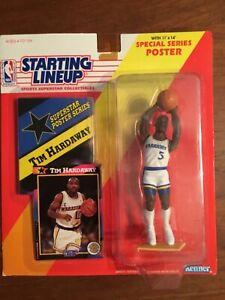 1992 Tim Hardaway, Warriors, Starting Lineup SLU NBA Basketball 1992