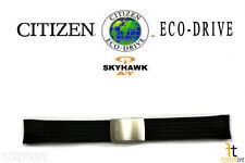 Citizen Eco-Drive Skyhawk JY0000-02E Original 21mm Black Rubber Watch Band Strap