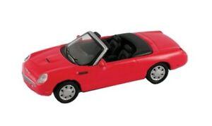 FORD-THUNDERBIRD-2003-4-ROSSO-1-87-H0-MODELPOWER-19270-Modellino-Auto-modello
