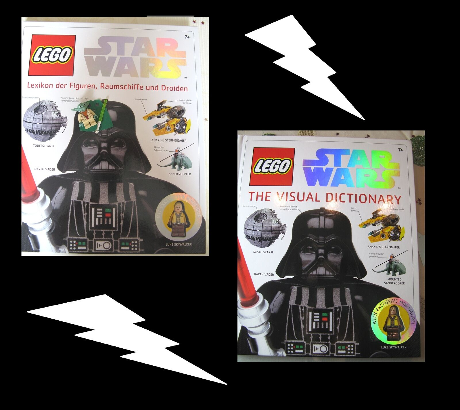 Lego Star Wars Buch Lexikon-The Visual Dictionary u Figur Yoda o. Count Dooku