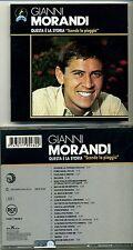 GIANNI MORANDI - Questa è la storia SCENDE LA PIOGGIA - 22 tracks - 1994 RCA