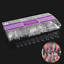 500Pcs-Coffin-Nails-Clear-Nail-Tips-Full-Cover-Artificial-Nails-10-Size thumbnail 1