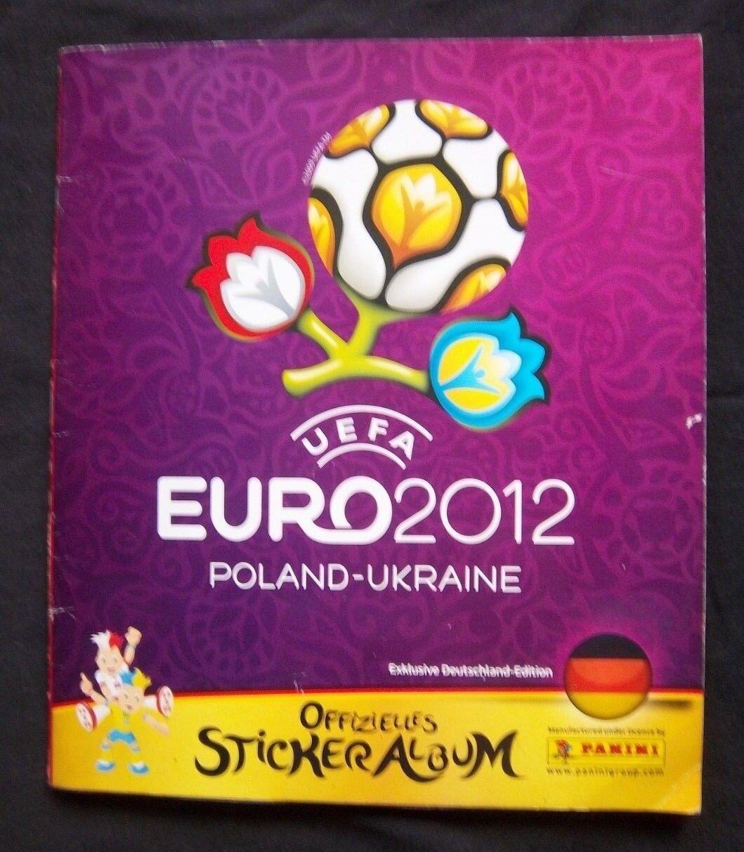 Orig.PANINI Album Sammelalbum EM POLEN UKRAINE 2012 Komplete