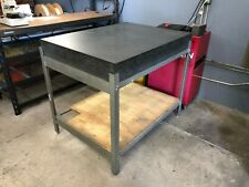 Granite Surface Plate With Stand 48 X 36 X 6