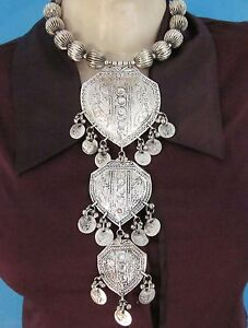 GéNéReuse Statement Vintage Coin Bib Necklace Choker Gypsy Boho Tribal Hot Fashion Jewelry Divers ModèLes RéCents