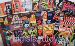 Marvel-Comics-Punisher-War-Journal-War-Zone-Armory-Copper-Age-MULTI-LISTING