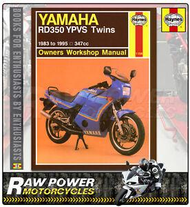 yamaha rd350 f 347cc 1985 1986 haynes manual 1158 ebay rh ebay co uk yamaha rd 350 lc ypvs parts manual yamaha rd 350 ypvs 1985 manual