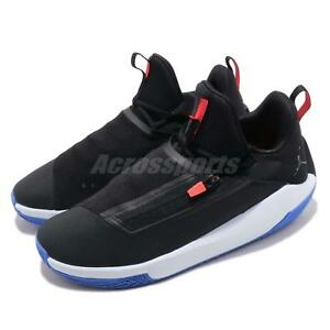 186dae8a580c Nike Jordan Jumpman Hustle PF Black Half Blue Men Basketball Shoes ...