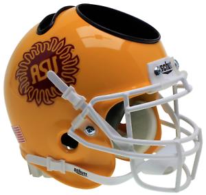 ARIZONA-STATE-SUN-DEVILS-Football-Helmet-OFFICE-PEN-PENCIL-BUSINESS-CARD-HOLDER