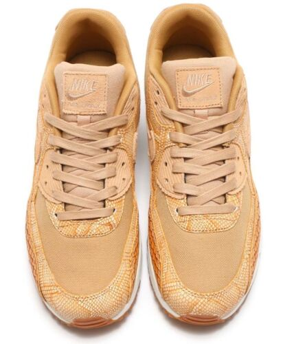 8 Max Or 200 Cuir Taille Rare Tan Nike Premium 90 Air Vanchetta Ah8046 Et 78n5qwF